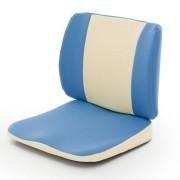 背筋が伸びる骨盤安定クッション Le−Za(ブルー)